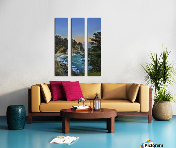 Para-Paradise Split Canvas print