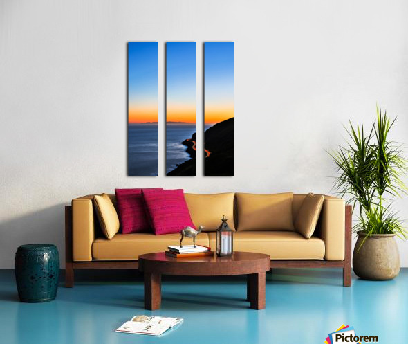 Last Turn Split Canvas print