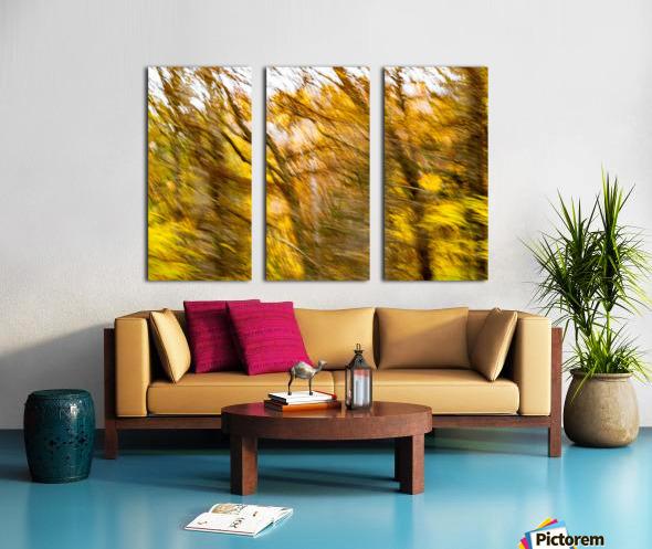 Foliage Blur Split Canvas print
