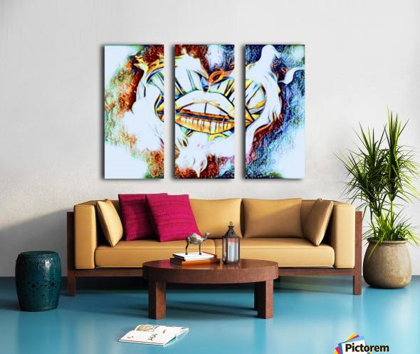 desire Split Canvas print