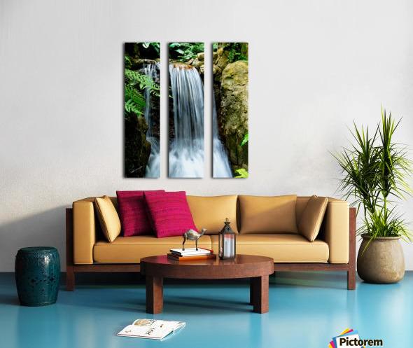 LIttle Hong Kong Park Waterfall Split Canvas print
