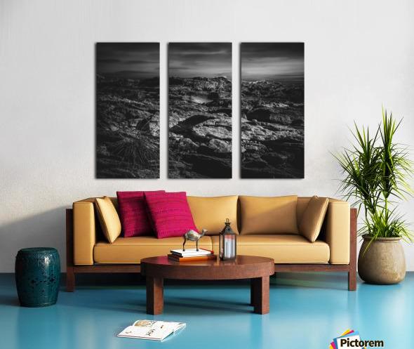 Secret Mountain Place Split Canvas print