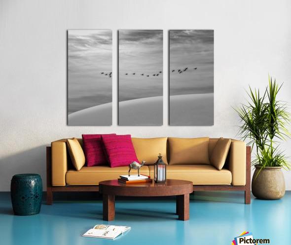 The Journey  Split Canvas print