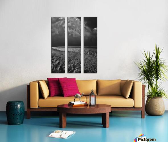 Night Shapes Split Canvas print