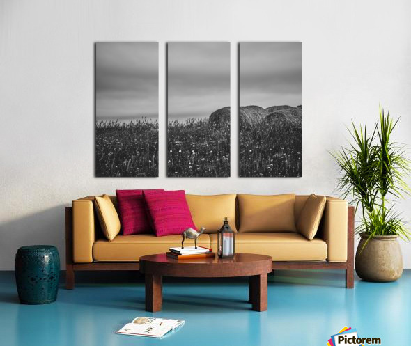 Haystacks Split Canvas print