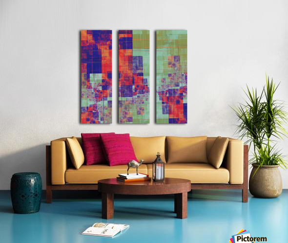 Abstract Composition 217 Split Canvas print