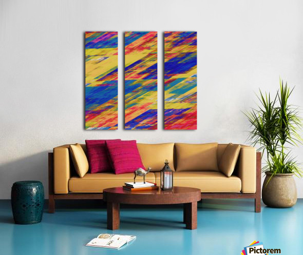 Abstract Composition 232 Split Canvas print
