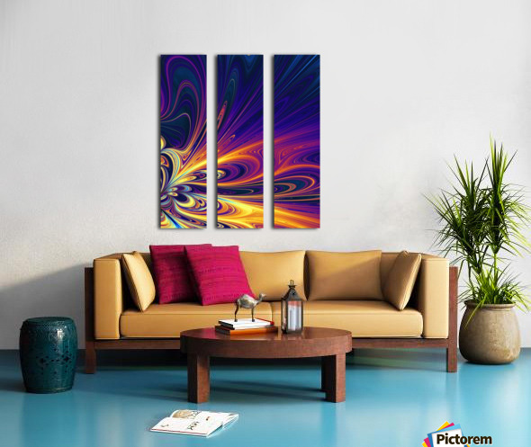 Abstract Composition 374 Split Canvas print