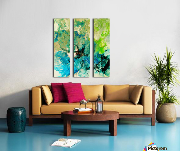 Abstract Composition 754 Split Canvas print