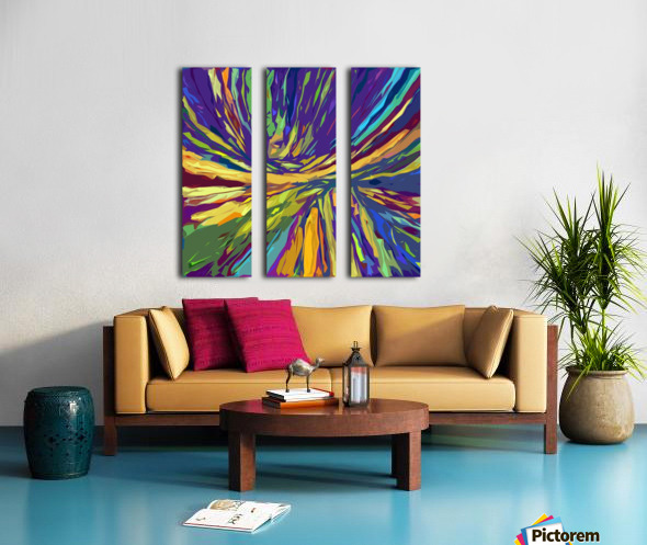 Abstract Composition 731 Split Canvas print