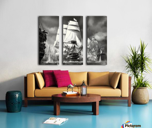TRAFALGAR Split Canvas print