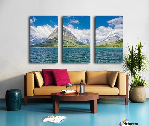 Mount Grinnell Split Canvas print