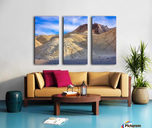 Badlands of Death Valley Split Canvas print