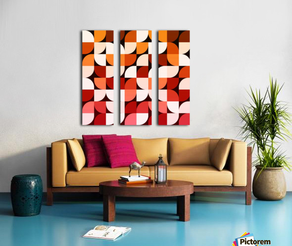 Abstract Composition 642 Split Canvas print