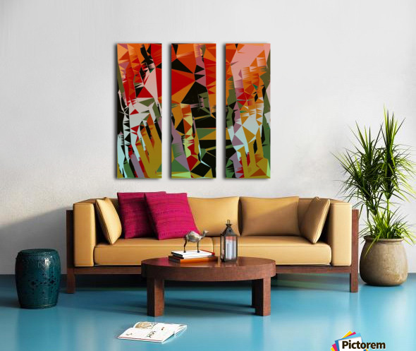 Abstract Composition 636 Split Canvas print