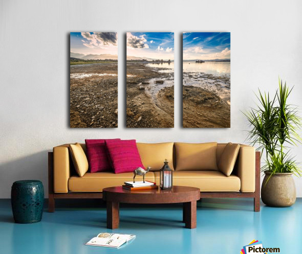 Mono Lake Shoreline Split Canvas print