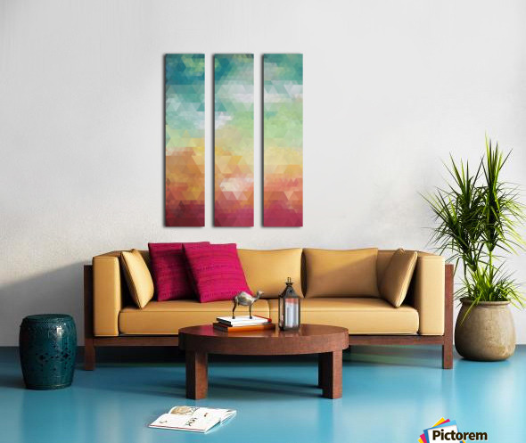 Abstract Composition 550 Split Canvas print