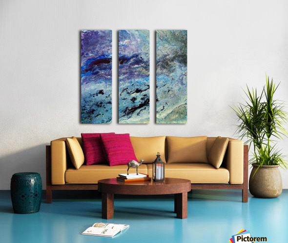 Color game Split Canvas print
