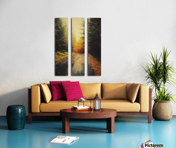 Autumnal Landscape 4 Split Canvas print