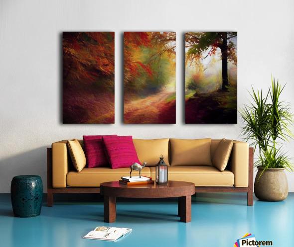 Autumnal Landscape 5 Split Canvas print