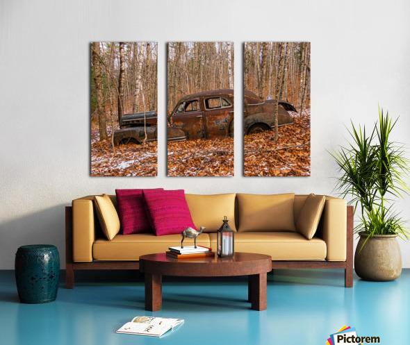 Chevrolet Fleetline 4 Split Canvas print
