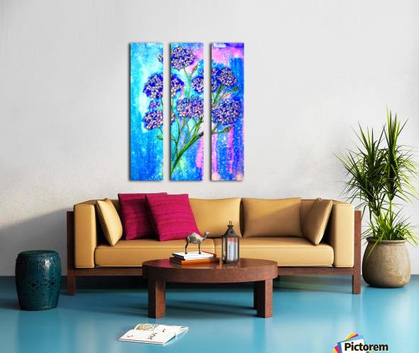 Hydrangeas Split Canvas print