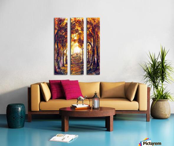Autumn Memories Split Canvas print