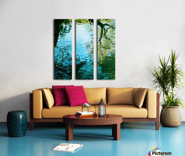 Nature reflections Split Canvas print