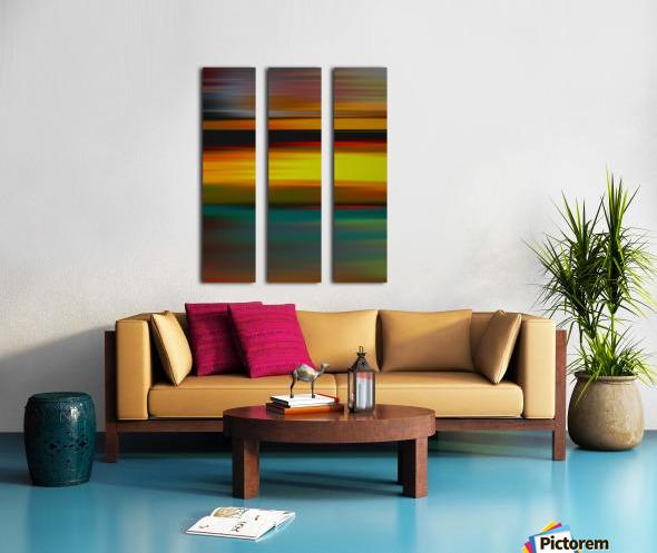 Abstract Landscape 6 Split Canvas print