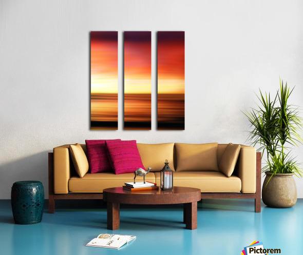 Abstract Landscape 7 Split Canvas print