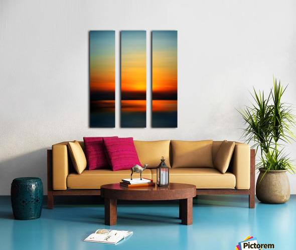 Abstract Landscape 9 Split Canvas print