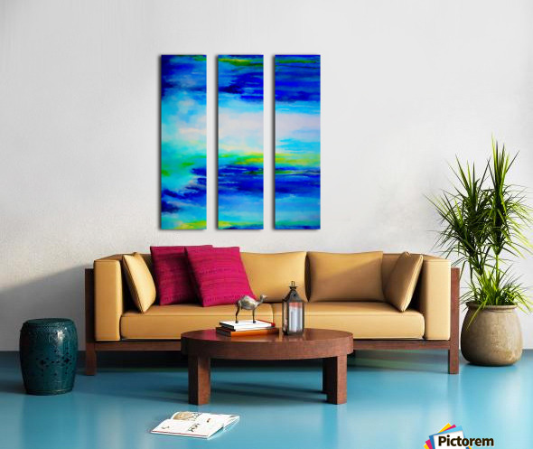 Abstract Landscape 11 Split Canvas print