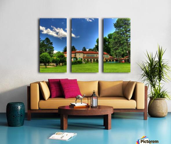 Villa Philmonte Split Canvas print