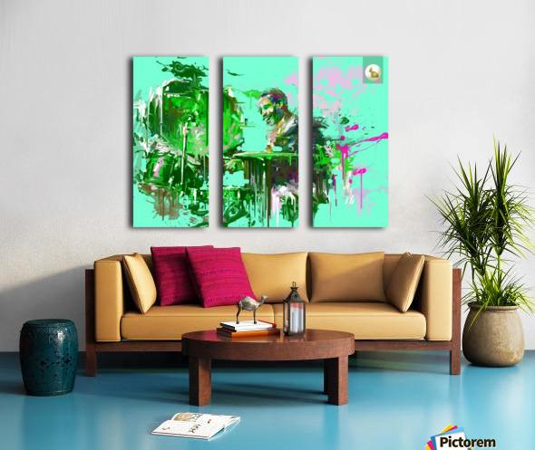 Untitled 9 Split Canvas print