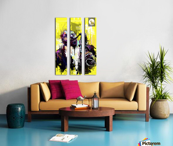 Untitled 3 Split Canvas print