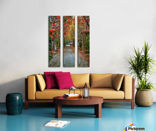 Fall in the city Split Canvas print