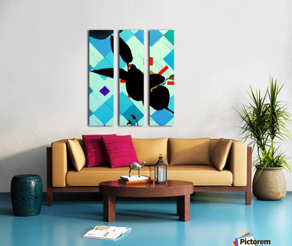 Hello 1 Split Canvas print