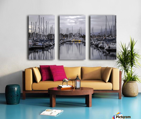 Boat Mess Split Canvas print