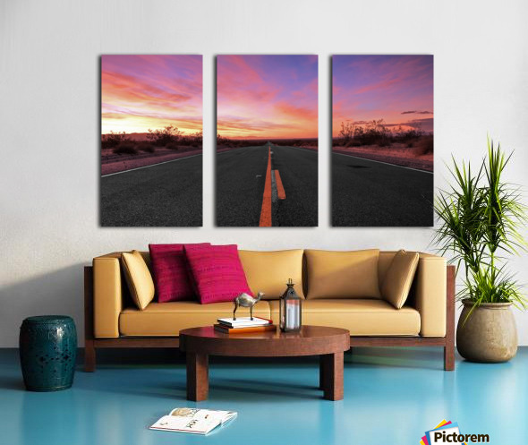 Coming home Split Canvas print