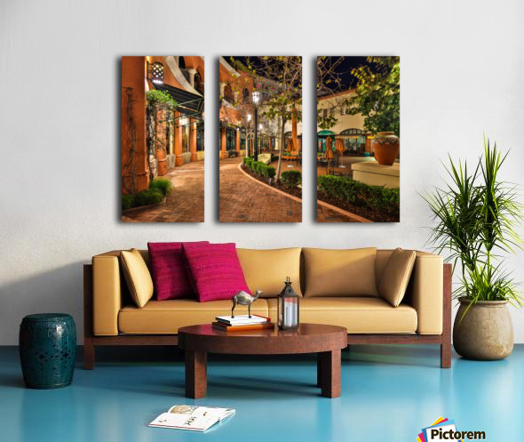 Quiet Walk Split Canvas print