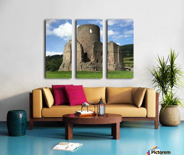 Treetower-Castle-Wales-1 Split Canvas print
