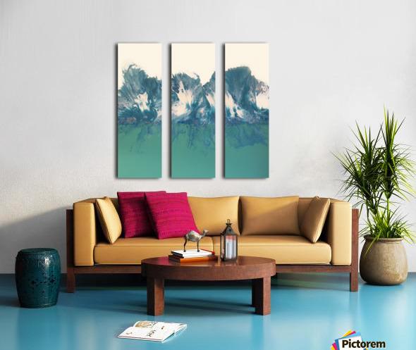Kissimmee Split Canvas print