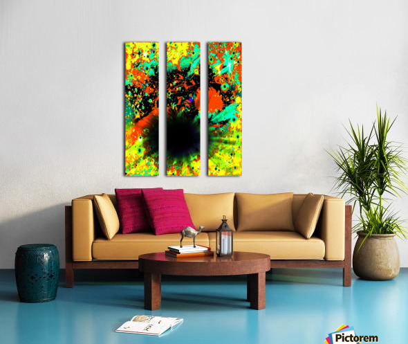 Blight Split Canvas print