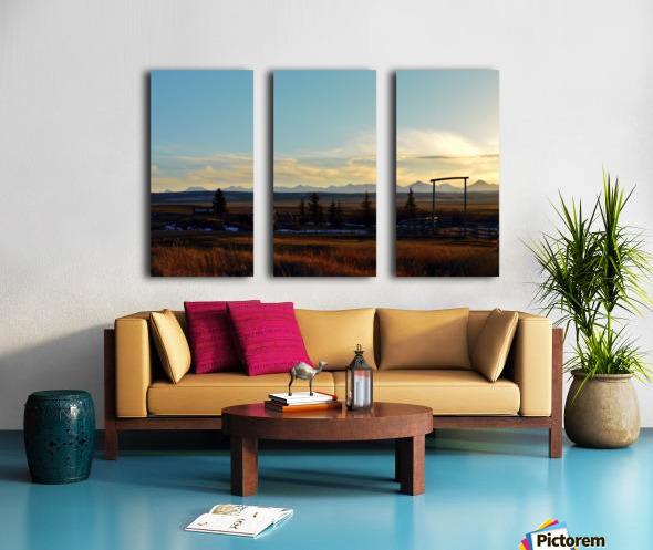 Bloomin Split Canvas print