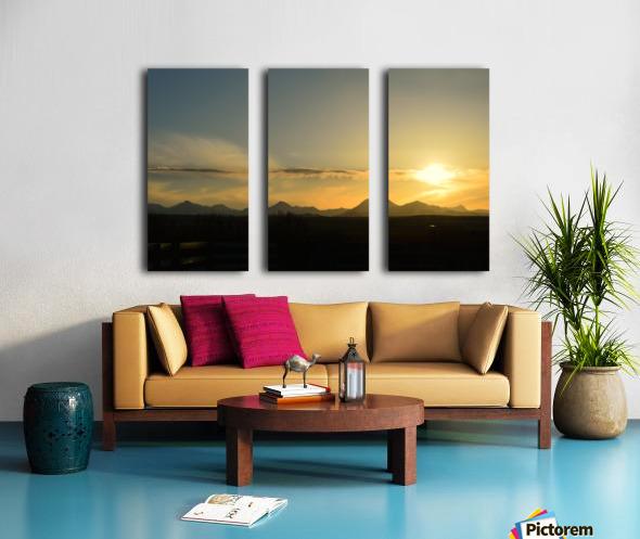 Skyscape  Split Canvas print