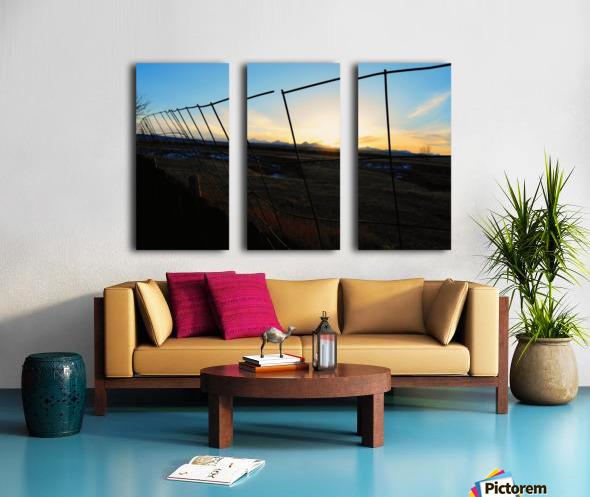 Watchout Split Canvas print