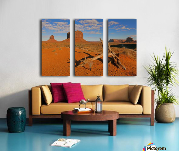 Witness of Time Split Canvas print