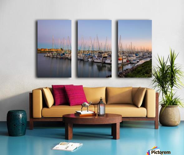 Full House Split Canvas print