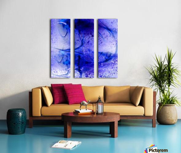 Aqualite by Jean-François Dupuis Split Canvas print