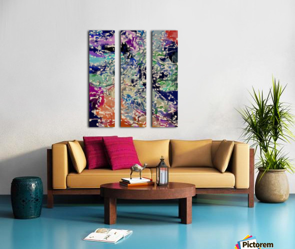 Abstract Composition 781 Split Canvas print